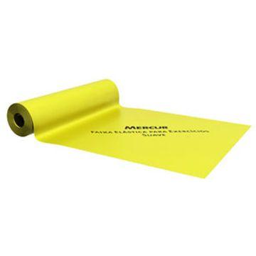 Faixa-elastica-Mercur---Amarela--Suave--c--2m